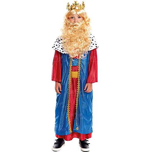Disfraz Rey Mago Melchor niño infantil para Navidad 2-4 años