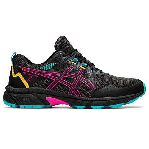 ASICS Gel-Venture 8, Zapatillas para Correr para Mujer, Black Pink GLO, 39 EU