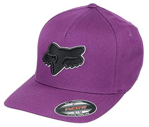 Fox Epicycle Flexfit Hat Dark Purple