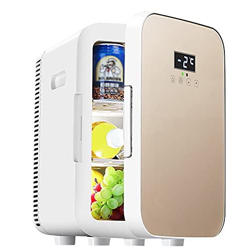 Portátil Pequeño Silencioso Refrigerador 13.5L para Apartamento Casa Hoteles Viajes Coche Nevera Oficina Frigorífico Mini Bar Casa Neveras Dormitorio Congelador