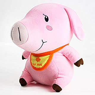 GrandToyZone DOLL SERIES 28cm (11 inch) - Seven Deadly Sins Plush Toy Hawk Pig Piggy Boar Hat Soft Stuffed Animal Dolls