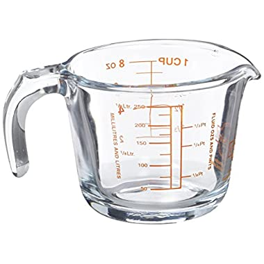Arcuisine Borosilicate Glass Measuring Cup 8.45 oz.