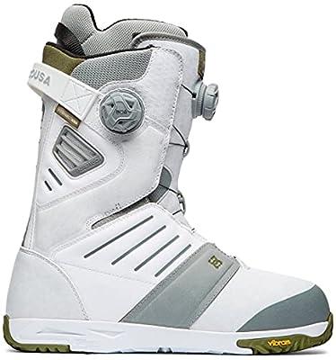DC Judge BOA Snowboard Boots Mens Sz 12 White