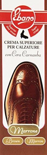 Ebenholz - Creme Top- Braun für Schuhe, mit Wachs carnauba - 50 ml