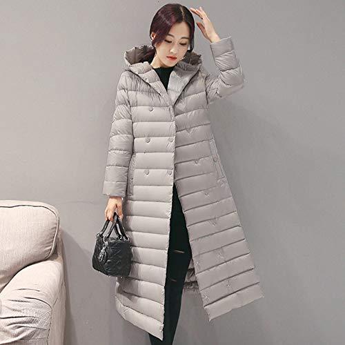 NDBBWG Chaqueta de plumas 2020 primavera otoño chaqueta de plumón blanca para mujer Parkas de...