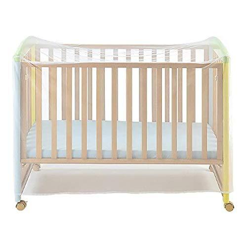 BESLIME Mosquitera para cuna de bebé, para cunas y minicunas, acceso rápido...