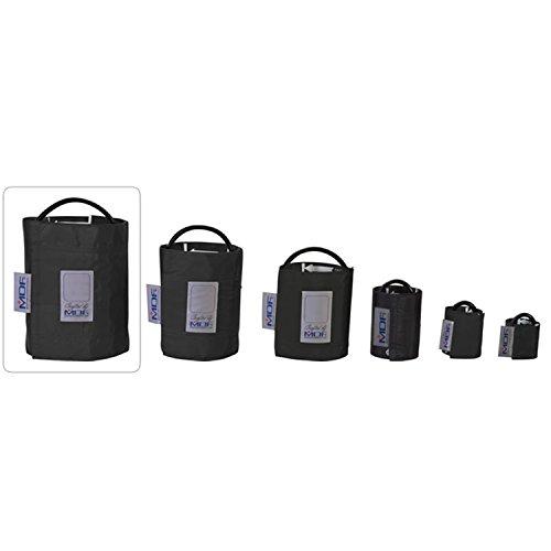 MDF® Muslo - Un tubo Manguito sin látex para presión arterial - Negro (MDF2090471-11)