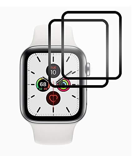 SDTEK 2 Pack 3D Screen Protector Fur Apple Watch Series 54 40mm Full Screen Protector