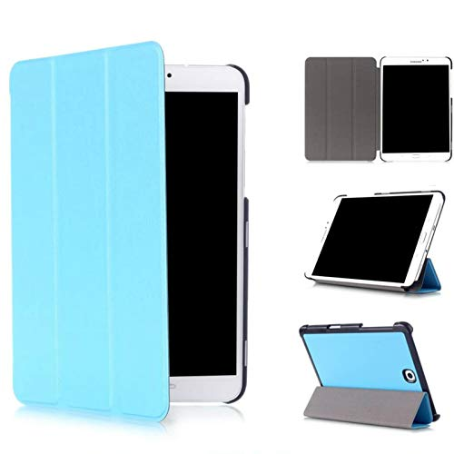 Asng Samsung Galaxy Tab S2 8.0 Case - Slim Lightweight Smart-Shell Stand Cover Case with Auto Wake/Sleep for Samsung Galaxy Tab S2 / S2 Nook 8.0 inch Tablet (SM-T710 / T715 / T713 / T719) (Sky Blue)
