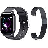 LWP T96 Reloj Inteligente De Dial Personalizado, Esfigmomanómetro De Ritmo Cardíaco, Hombres Y Mujeres, Deporte Impermeable, Reloj Inteligente para Android iOS,E