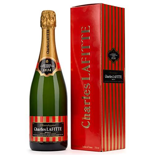 Charles Lafitte Champagne 1834 Brut mit Geschenkverpackung (1 x 0.75 l)