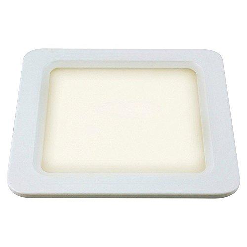 SpiceLED 16W LED pannello lampada luce bianca calda lampada da soffitto quadrato sottile Slim UltraSlim Faretto da incasso