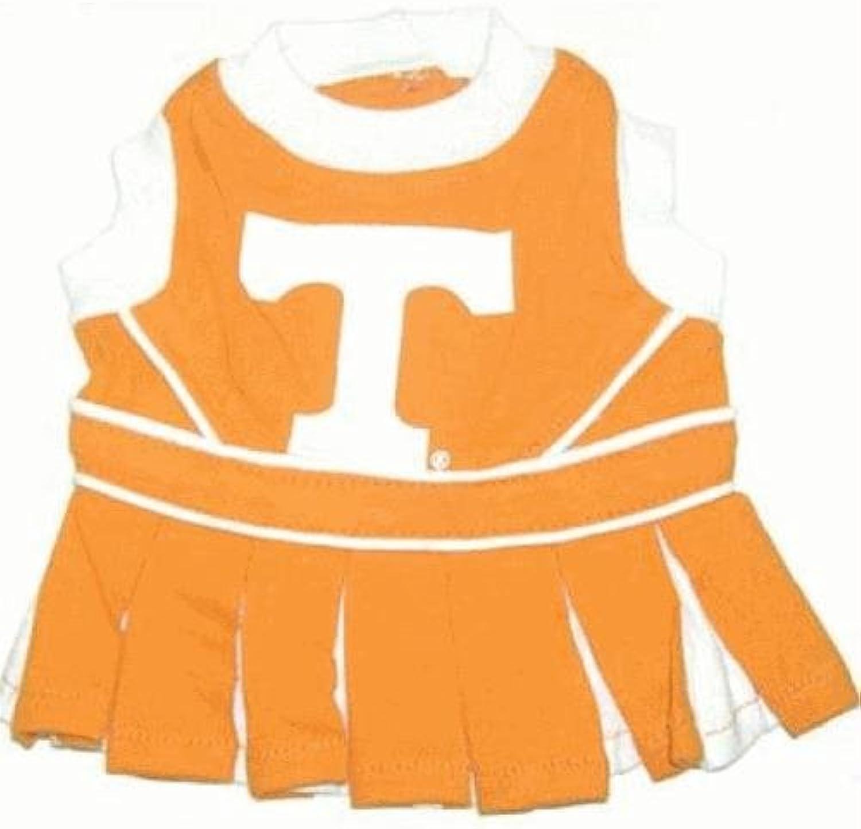 Pet Care Preferred Tennessee Volunteers Cheerleader Dog Dress  XSmall