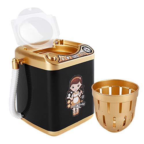 ROSOY Mini-Multifunktions-Kinderwaschmaschinen-Spielzeug-Schönheits-Schwamm-Bürsten-Waschmaschine