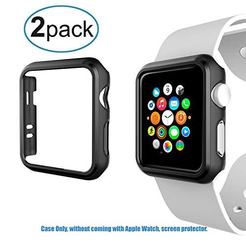 Greallthy Apple Watch 2 / Watch 3 Hülle 42mm, Schlank Stoßfest Leicht Robustes Polycarbonat Hartschalen-Schutzhülle Apple Watch Stoßstange für Apple Watch Series 2 und 3,42mm
