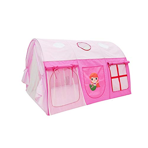 C-J-Xin Girl's Bedroom Bed Tent, Children's Family Game Tent Large Space Sleeping Tent Pink Bed Tent/105 * 145 * 90CM/0 Year+ Play Tents (Size : 105 * 145 * 90CM)