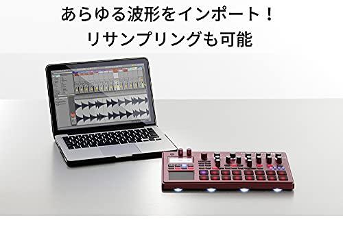 KORG(コルグ)サンプラーシーケンサーelectribesamplerelectribe2Sエレクトライブメタリックレッドダンスミュージック音楽制作ライブパフォーマンスに最適AbletonLiveと連携ELECTRIBE2SRD