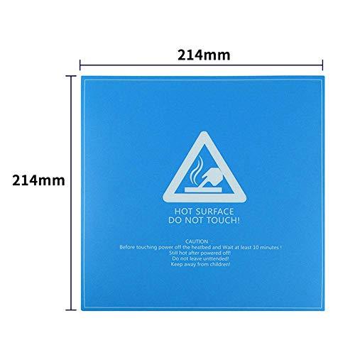 Seasons Shop Accessoires voor printers, zelfklevend, platform, voor buitenbed, warmdruk, 3D-constructie, voor MK2B/MK3 3D-214 mm/220 0,5 mm ontspanning