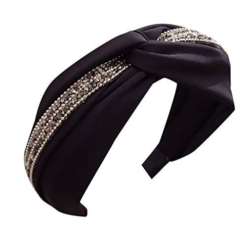 Xmiral Fasce Hair Bands Accessori Donne Carino Accessori per Capelli Donna Cerchietto per Capelli con Nodo, Fascia per Capelli, Fascia, da Donna Taglia Unica Multicolore-3