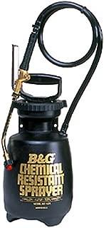 B & G Equipment 12013600 Chemical Resistant Sprayer, 1 gal Poly Molded Thick Wall polyethylene Tank Design, 18