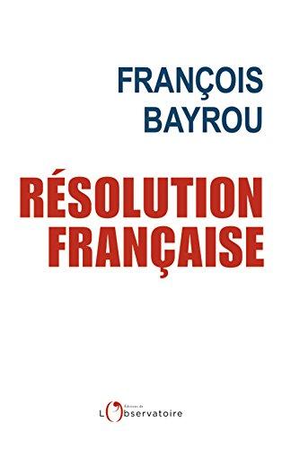 Résolution française (EDITIONS DE L'O) (French Edition)