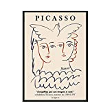 Picasso Matisse Leinwand Malerei druckt abstrakte Mädchen