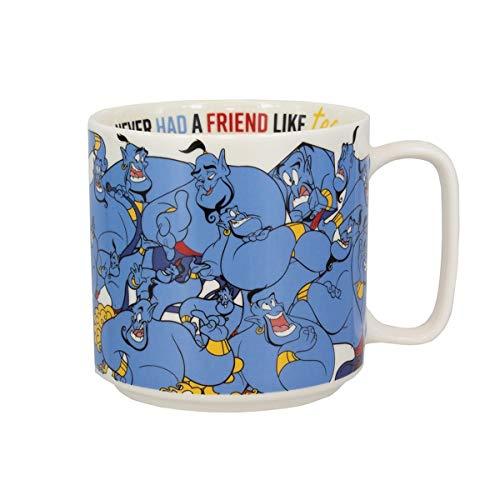 Paladone PP5084DP Aladdin Genie Mok   Nieuwigheid Koffie Thee Keramische Beker   Unieke & Super Leuke manier van het drinken van uw favoriete drank
