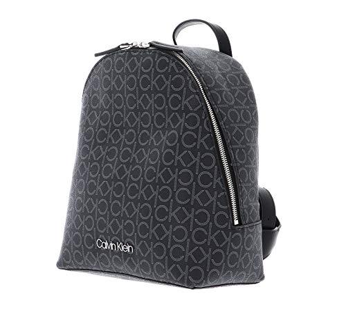 41mOIXtEKmL - Calvin Klein Small Backpack CK Mono Small Backpack Black Mix