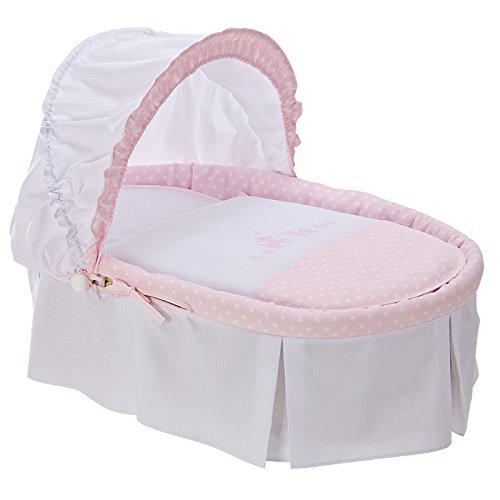 Bolin bolón Bimba – Moïse pour bébé rose