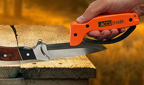 AccuSharp ACCU-014 Blaze Orange Knife and Tool Sharpener, Pack of 1