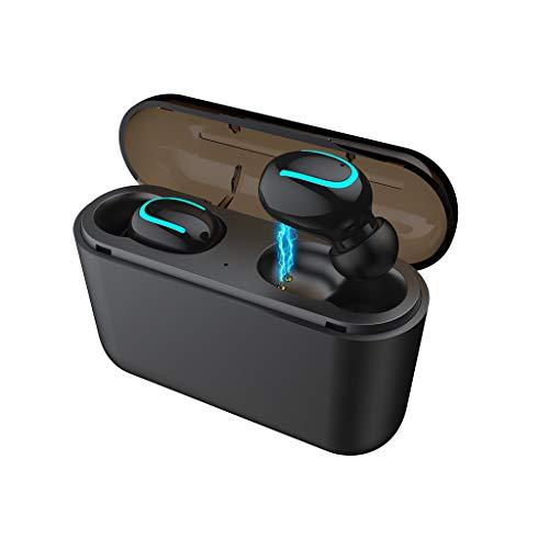 Twins Bluetooth Kopfhörer, 5,0 kabellose In-Ear-Kopfhörer, Rauschunterdrückung, Stereo Sound Headset, Sport Mini Ohrhörer