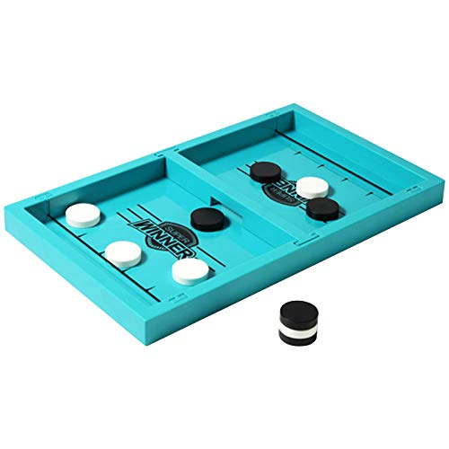 Fast Sling Puck Board Game Foosball Board Game Slingshot Table Hockey Party Game Bouncing Chess Hockey Game Winner Board Games Toys for Adults Parent-Child Interactive Chess Toy Board Table Game
