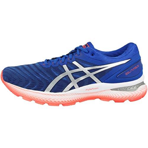 ASICS Gel-Nimbus 22, Chaussures de Course, Homme, Bleu Thon/Argent Pur, 43.5 EU