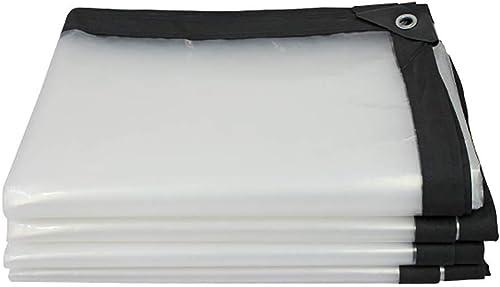 GLP Bordure épaissie Transparente Feuille de Plastique imperméable et imperméable perforée Film de Culture de Serre de Fleur de Balcon (180g   M2) Disponible dans Une variété de Tailles Clair