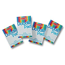Doodle pads to develop kid's imagination and practice writing skills