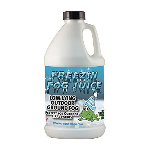 Freezin Fog - Outdoor Low Lying Ground Fog Fluid - For Halloween, Theatrical Effects, Haunted Attractions (Half Gallon)