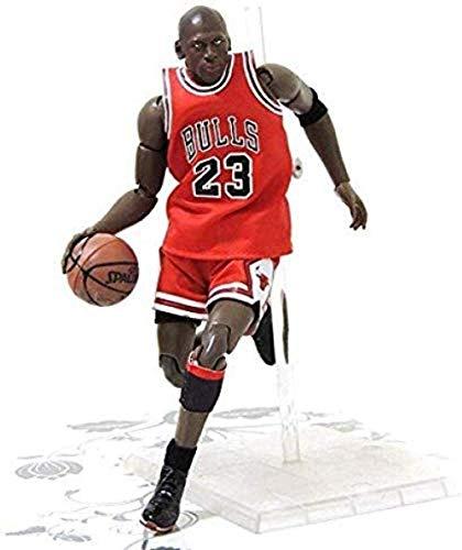 Mdcgok Figuras de Anime Figura de acción de Juguete Serie NBA Jordan Kobe James Curry Modelo Souvenirs / Coleccionables / Artesanías 22cm Estatua de Juguete (Color: Jordan)