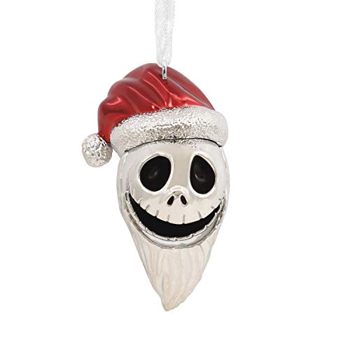 Hallmark Ornament, Disney Tim Burton's The Nightmare Before Christmas Jack Skellington as Sandy Claws, Metal