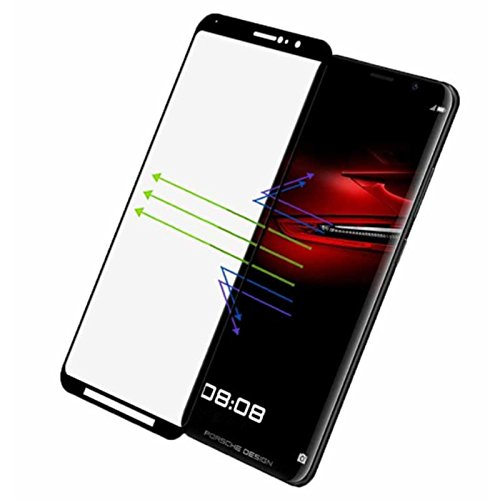 For Huawei Mate RS 3D Surface Tempered Glass, 3D Full Cover Premium 9H Hardness Screen Protector Film for Huawei Design Mate RS(Black)