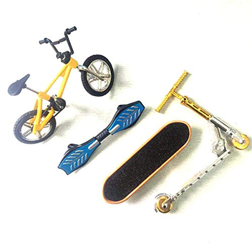 Iwinna Finger Scooter Two Wheel Scooter Children's Educational Toys Finger Scooter Bike Fingerboard Skateboard