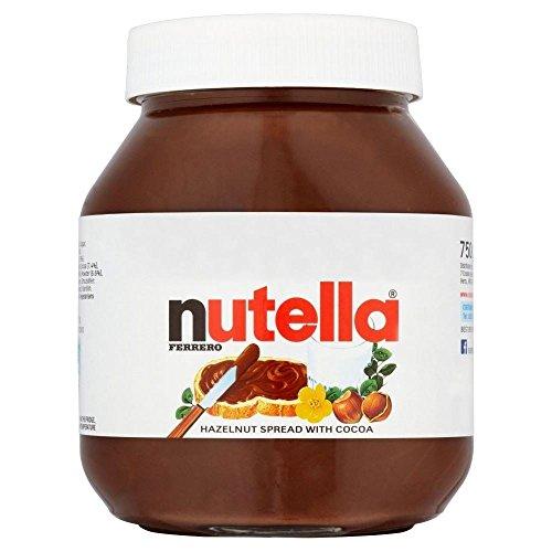 Nutella Schokolade Hazelnut Spread (750g) - Packung mit 2