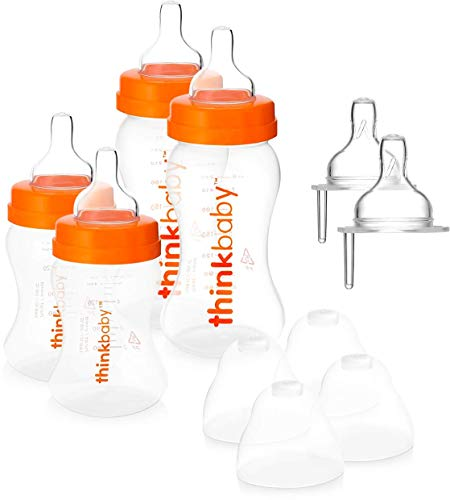 Thinkbaby THB-SETA - Set di base con 4 biberon, 14 pz