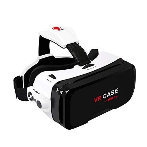 Best Price SPLY DTEM Smartphone Vr Vr Glasses 3D Glasses VR Integrated Bluetooth Handle Virtual Reality Glasses Headset 3D Glasses, Suitable for Mobile Phone Screen Size 4.4-6.3