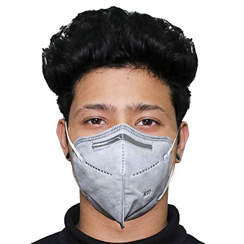Casago N95 5 Layer Disposable Kids Face Mask with Nose Pin & Earloop (1 Pc)