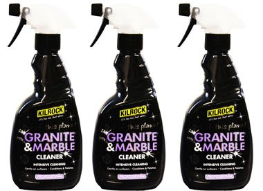 Kilrock Granite and Marble Cleaner 500 ml (Pack of 3)