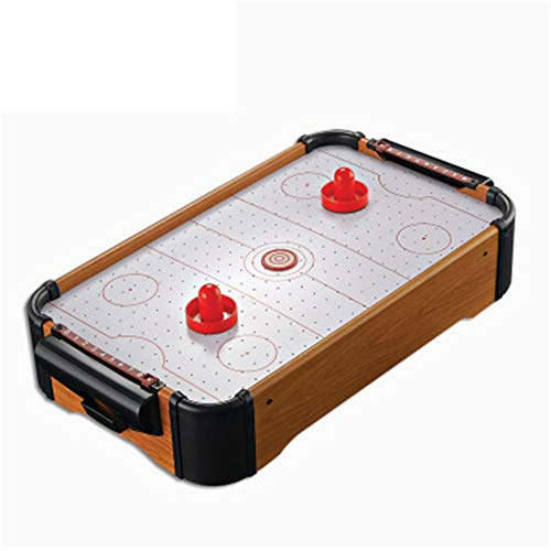 YADSHENG Football Table Portable Fast Paced Action Game Tabletop Air Hockey Table Mini Durable Lightweight Mini Air-Powered Hockey Set for...