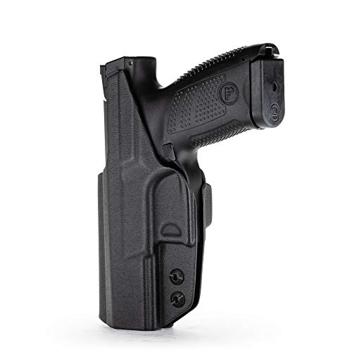 1791 GUNLEATHER CZ P10 Kydex Holster - Premium Kydex Right Hand IWB Gun Holster fits CZ P10C, CZ P10F, CZ P10S 9mm and .40 Cal Models - Perfect for Concealed Carry (CCW)