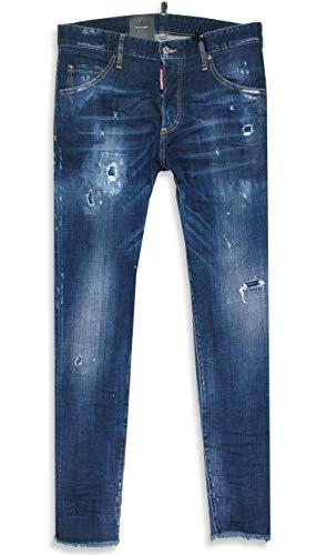 DSquared2 Skinny Jean Dsquared D2 Herren Jeans Blau