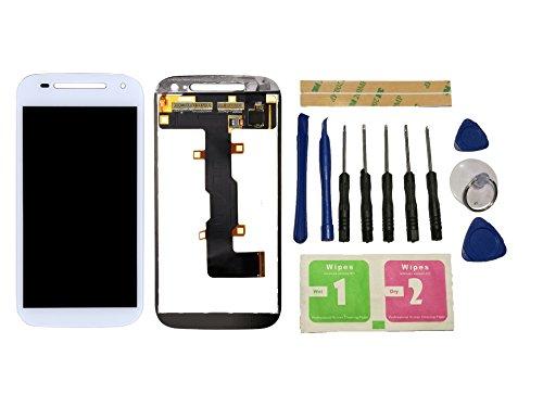 Flügel for Motorola Moto E2 XT1505 XT1524 XT1527 XT1511 Display LCD Ersatzdisplay Weiß Touchscreen Digitizer Bildschirm Glas Assembly (ohne Rahmen) Ersatzteile & Werkzeuge & Kleber
