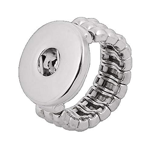 ANDANTE Chunk Ring für Chunks Click-Buttons Druckknöpfe - elastisch (17-19 mm)